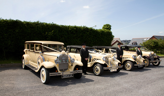 Cars available from J McHugh Wedding Cars